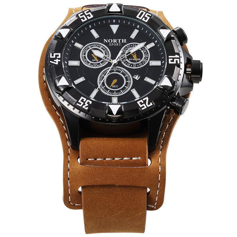 NORTH Luxury Leather Quartz Watches - PropelGear