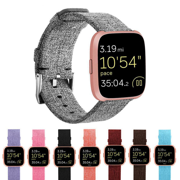 Nylon Fabric Wristband Strap For Fitbit Versa - PropelGear