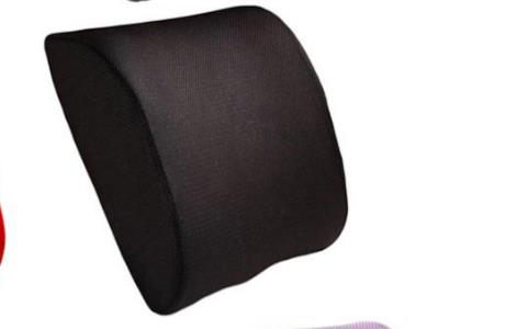 Soft Memory Foam Lumbar Support Back Massager Waist Cushion Pillow For Chairs in the Car Seat Pillows Home Office Relieve Pain - PropelGear