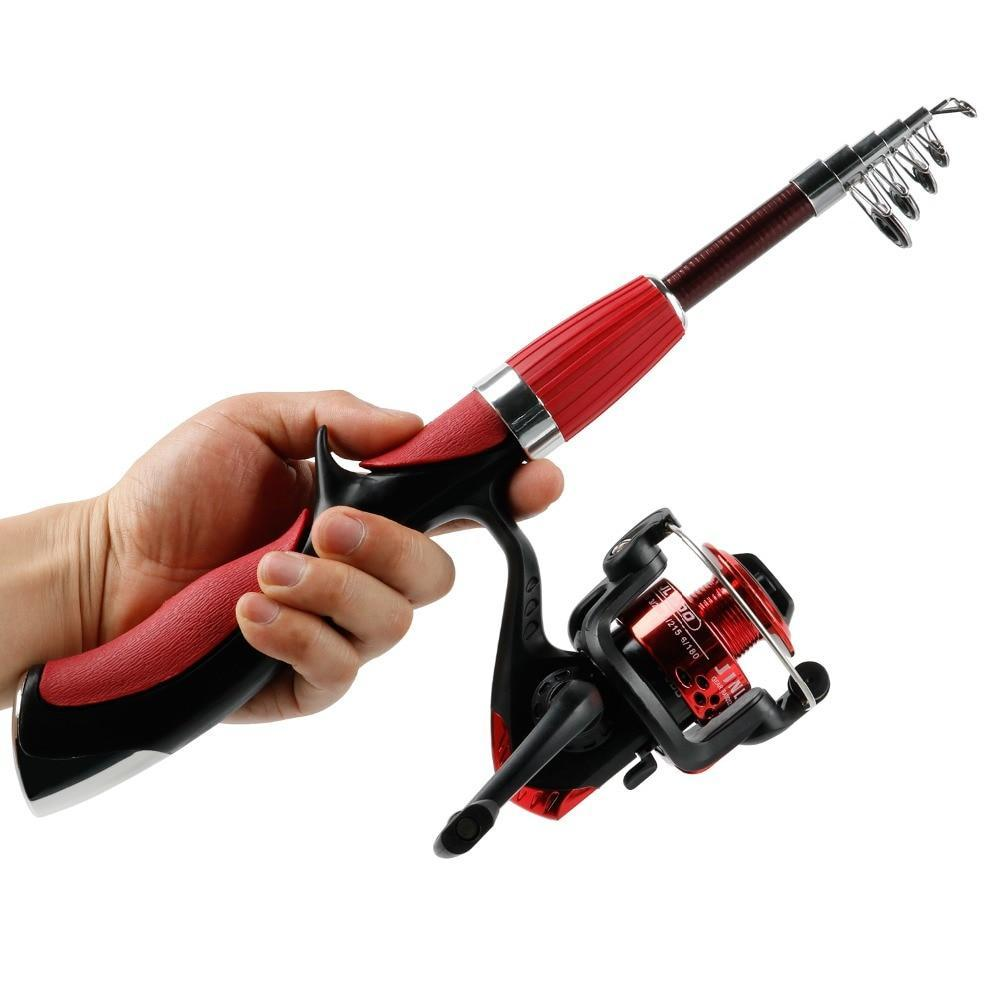 Telescopic Spinning Fishing Rod Fully Retractable - PropelGear
