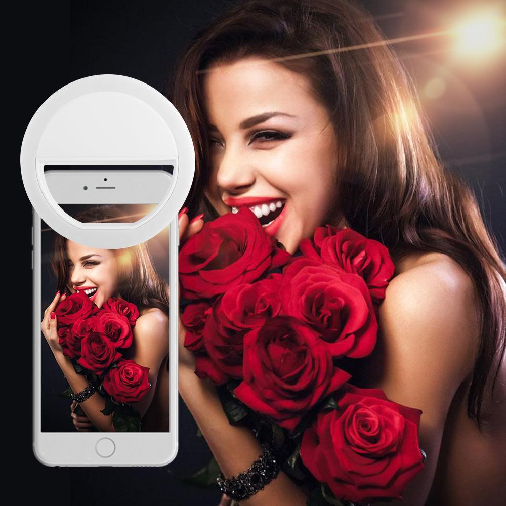 USB 4 Levels Selfie Ring Light for Any Phone - PropelGear