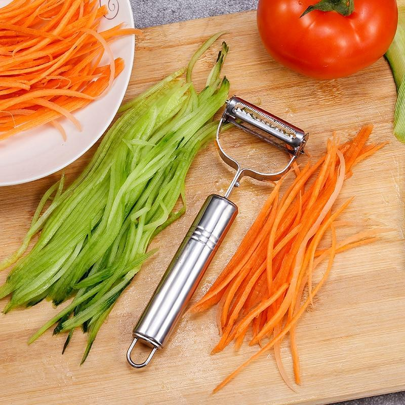 Vegetable Stainless Steel Peeler Multifunction Julienne - PropelGear