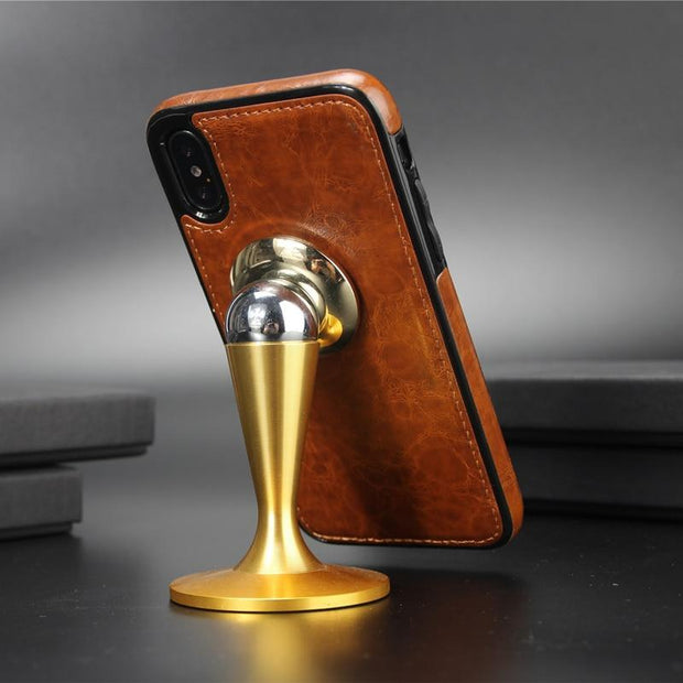 Vintage Leather Case for iPhone - PropelGear