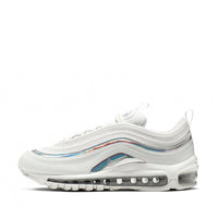 Nike Air Max 97 Women's Iridescent Shoe - Summit White/Metallic Silver