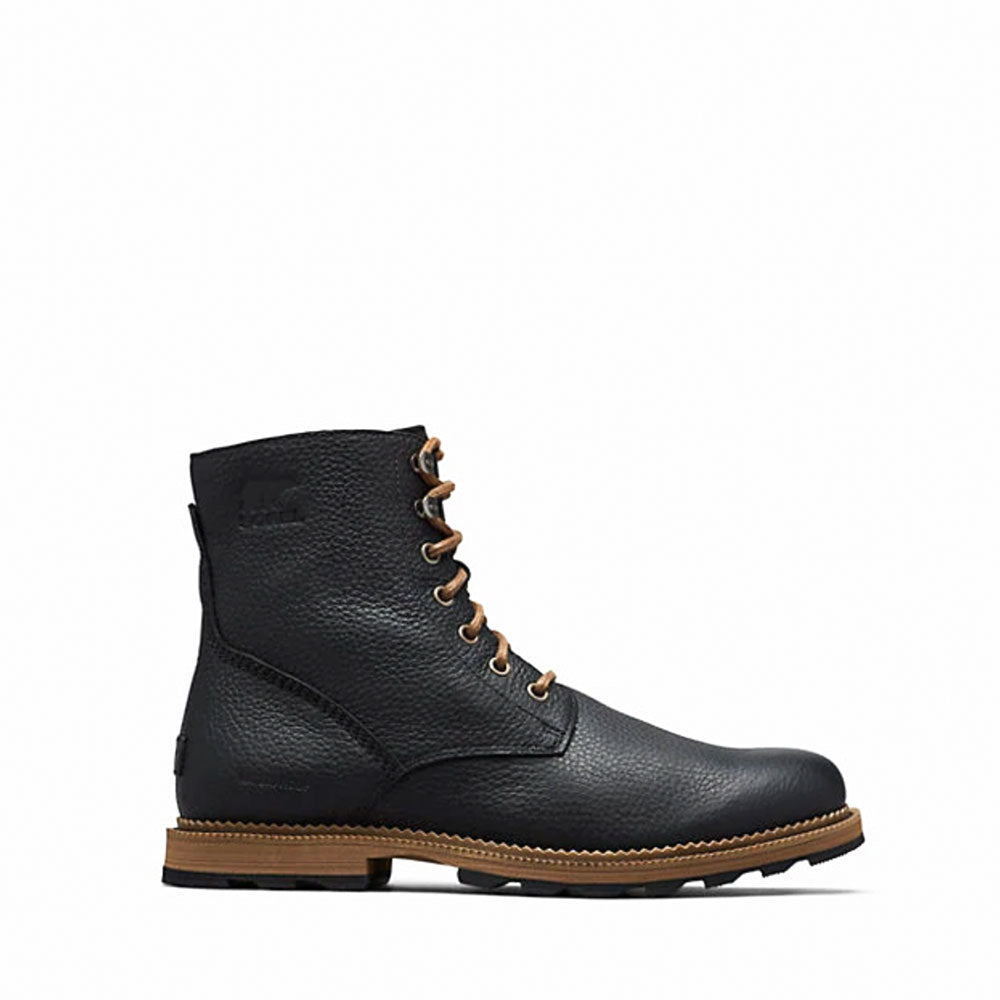 "SOREL MADSON™ 6"" BOOT WP - Color: Black, Ancient Fossil - 1869721-010"