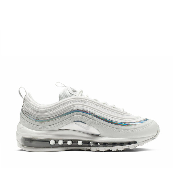 Nike Air Max 97 Women's Iridescent Shoe - Summit White/Metallic Silver - CJ9706-100