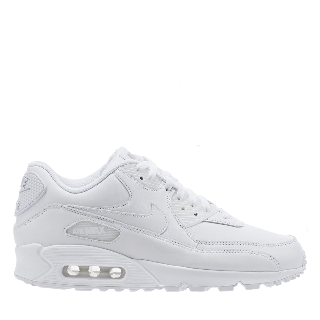 Nike Air Max 90 Leather - True White/True White - 302519 113