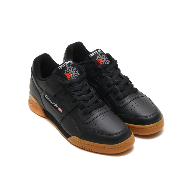 REEBOK CLASSICS WORKOUT PLUS Black/Gum CN2127 GROOVY SHOES TORONTO