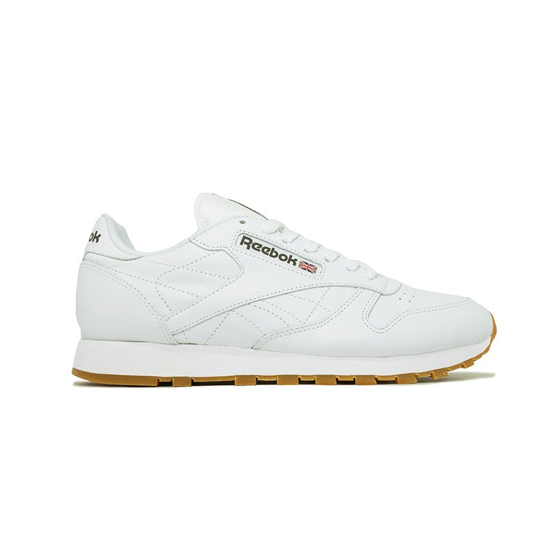 REEBOK MEN CLASSICS CLASSIC LEATHER White Gum (49797) – groovyshoes 319f456f3