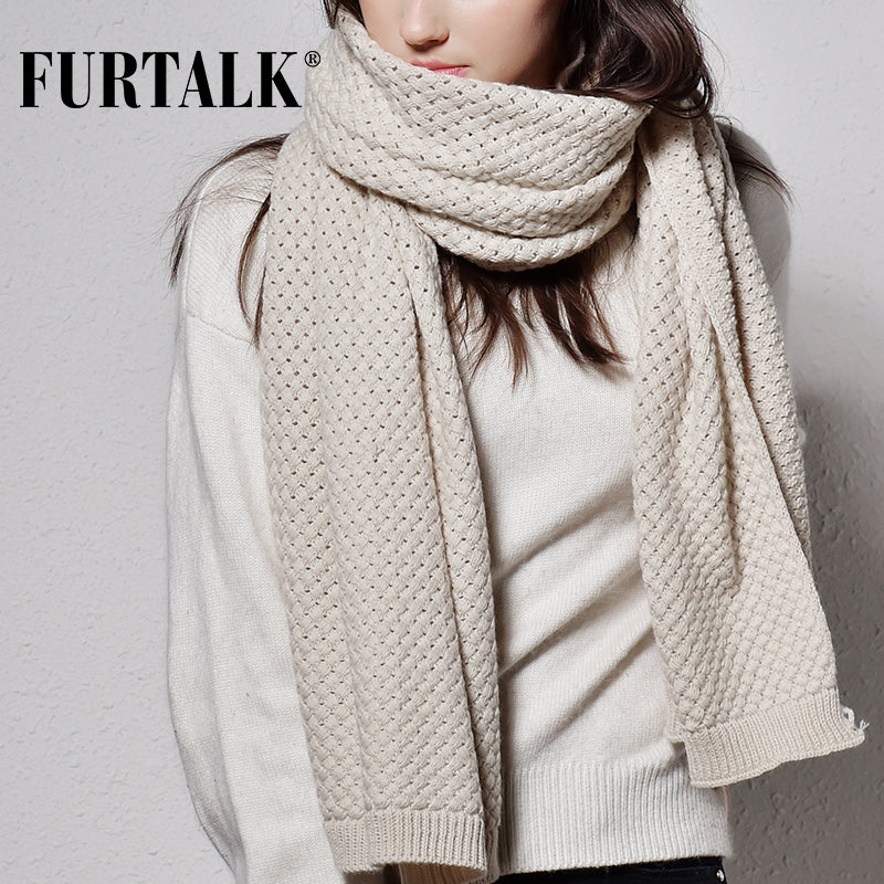 Winter women scarf luxury brand, poncho knitted scarf pashmina
