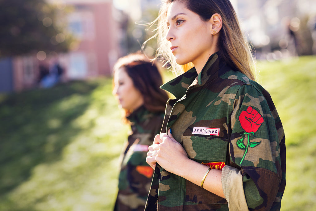 Camo Jacket for Women's March 2018