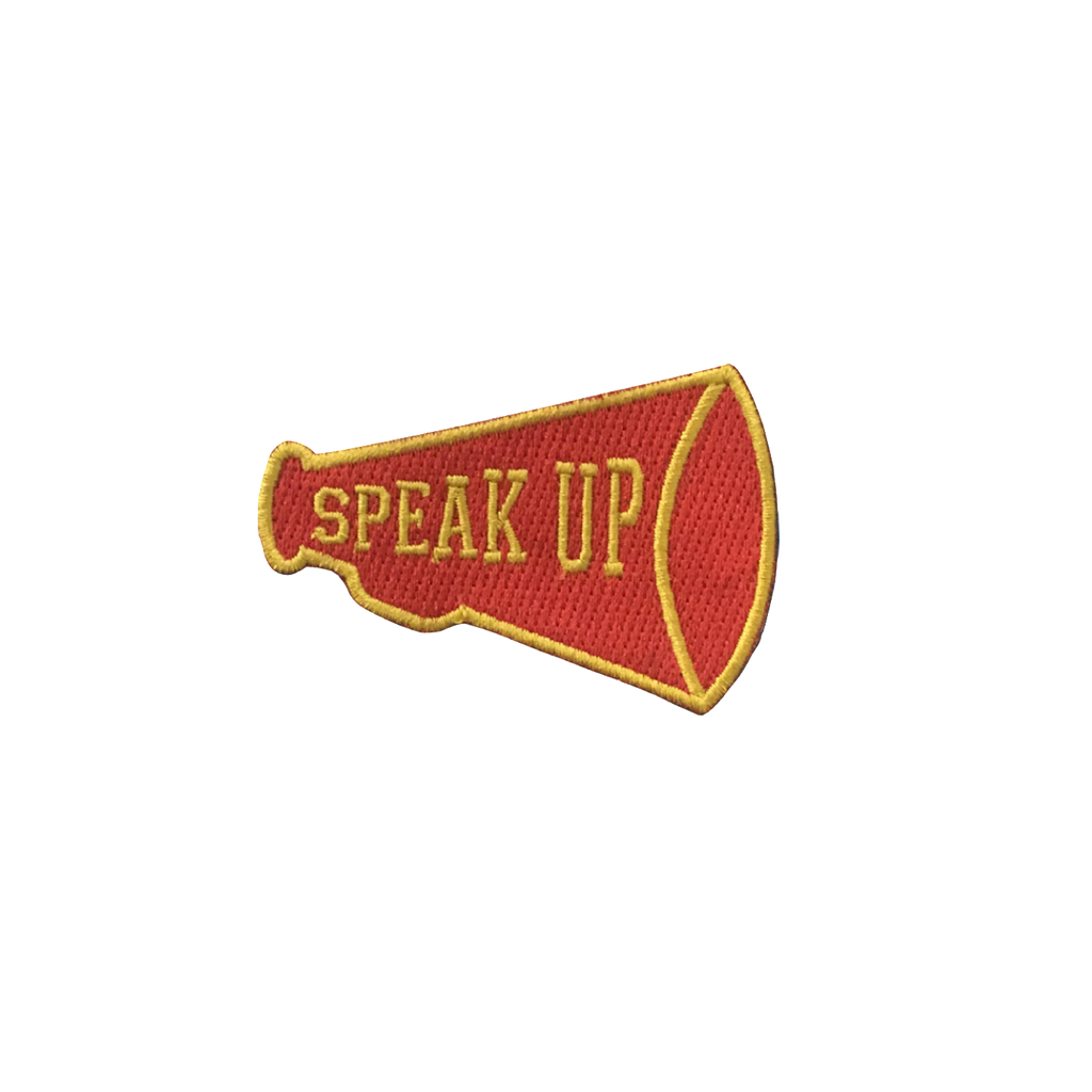 Speak Up Patch