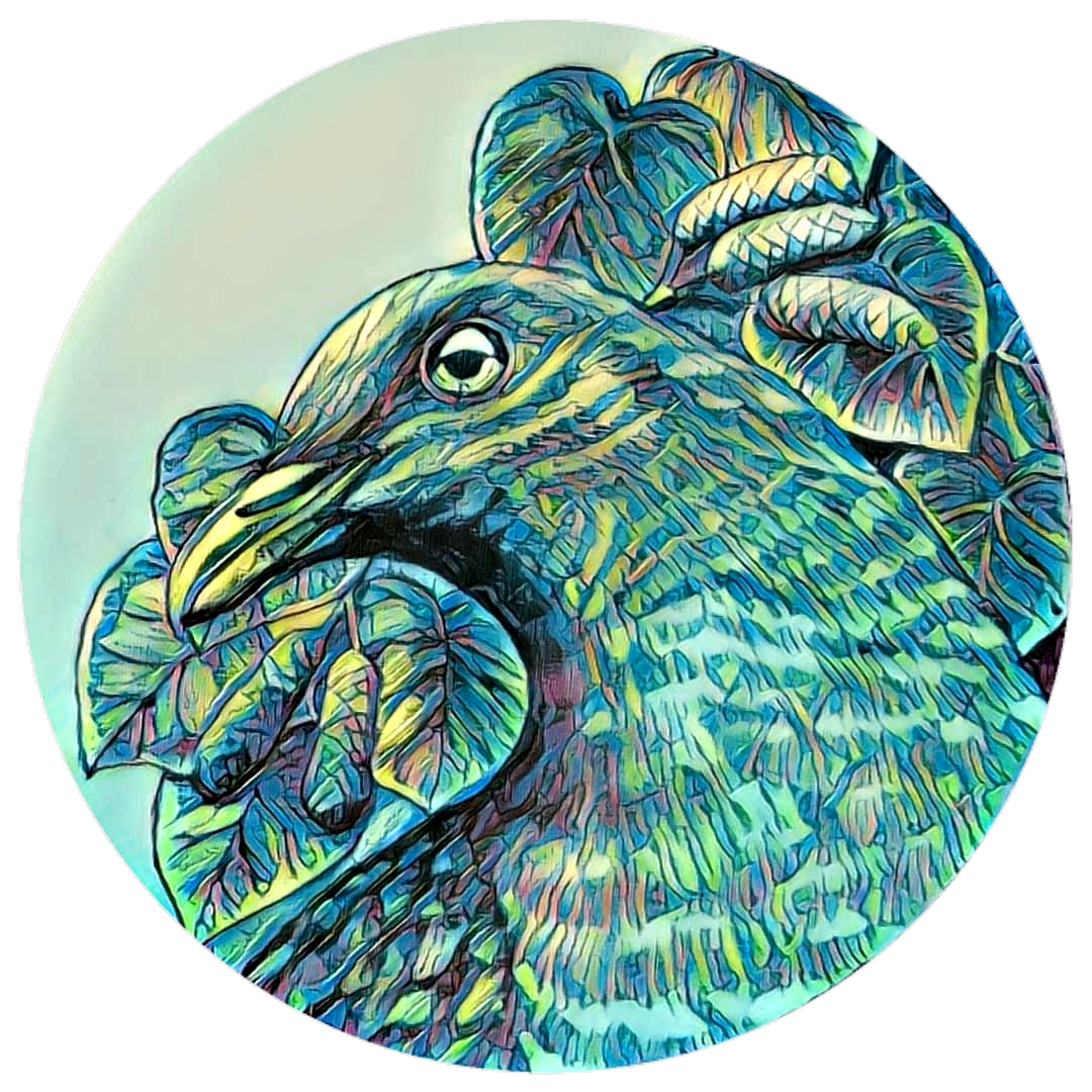 Kereru outdoor art - 285mm diameter