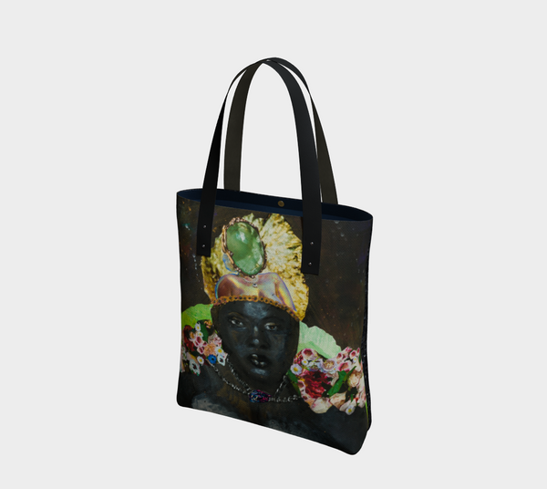 Queen Mother 2-Side Canvas Tote
