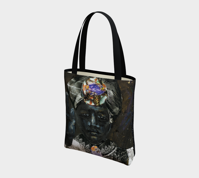 Moor 2-Side Canvas Tote