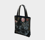 Lovers 2-Side Canvas Tote