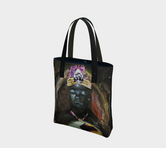 Universe 2-Side Canvas Tote
