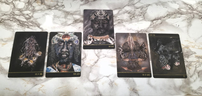 Dust II Onyx: A Melanated Tarot - 2nd Edition