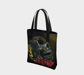 Death 2-Side Canvas Tote