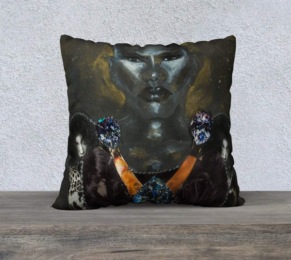 "22"" X 22"" Pillow Case - The Chief"