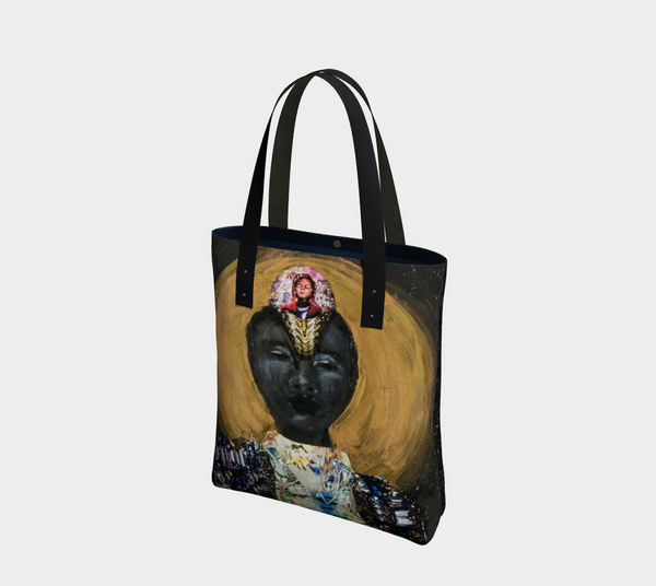 Sun 2-Side Canvas Tote