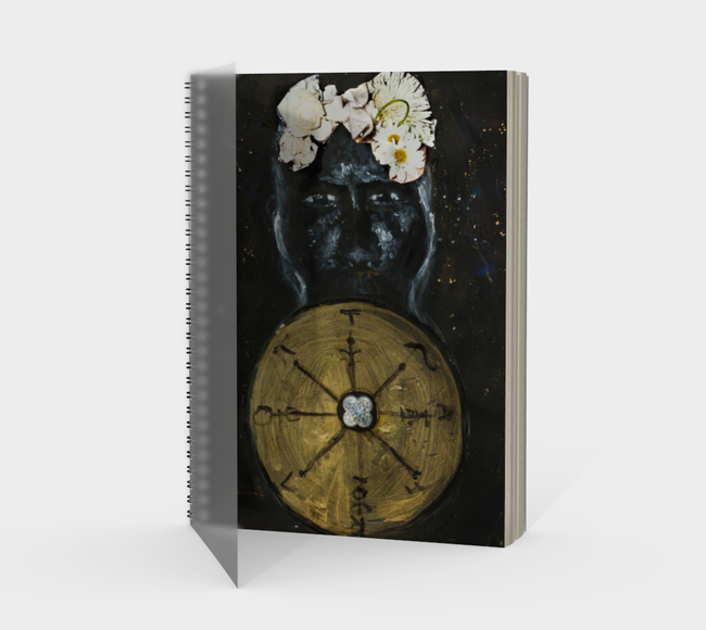 Wheel of Fortune Spiral Notebook