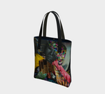 Tower 2-Side Canvas Tote