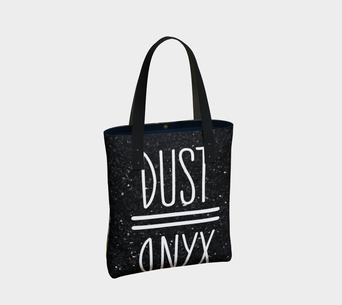 4acab5243a3 Queen Mother 2-Side Canvas Tote – Dust II Onyx