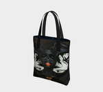 Temptation 2-Side Canvas Tote