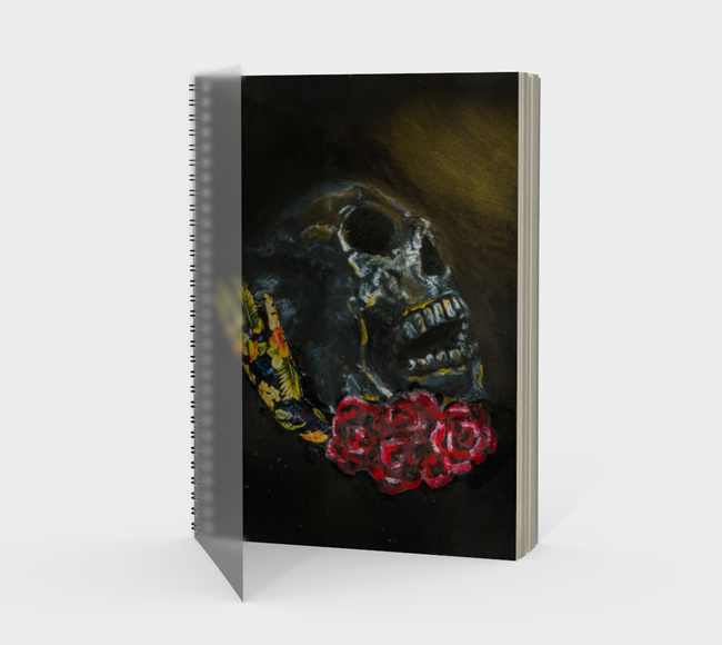 Death Spiral Notebook