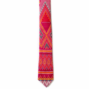 Unique Pink Handmade Tie | Cambo Ties