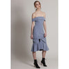Catherine Dress, Cornflower Blue
