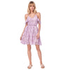 Capri Lace Dress, Lilac