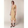 Chiara Dress, Tan