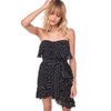 Emily Ruffled Dress, Black