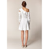 Milana Dress, White