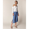 Coastal Lace-Up Pants, Blue
