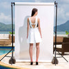 Pool Side Dress, White