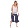 Island Breeze Culottes, Blue