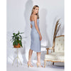 Roxane Dress, Light Blue