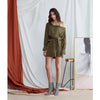 Gywneth Dress, Olive Green