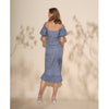 Devon Dress, Blue