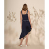 Society Bustier, Dark Blue