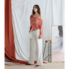Olivia Wide Leg Pants, White