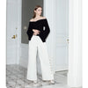 Wide Eyed Trousers, White