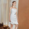 Nellie Dress. White Lace