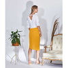 Francine Skirt, Bright Yellow