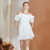 Emilie Dress, White