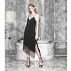 Afterhours Slip Dress, Black