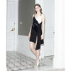 At the Bar Slip Dress, Black